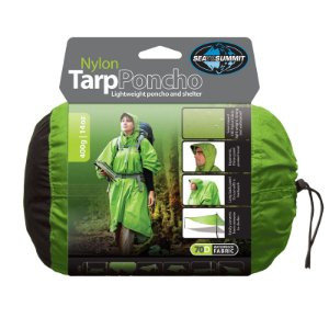 PONCHO TARP 70D VERDE SEA TO SUMMIT i