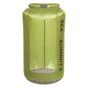 SACO ESTANQUE ULTRA-SIL VIEW DRY SACK 20L VERDE SEA TO SUMMIT LIQUIDAÇÃO