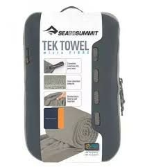 TOALHA TEK TOWEL M CINZA SEA TO SUMMIT i