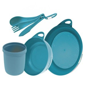 KIT COZINHA DELTA CAMP SET 2018 AZUL SEA TO SUMMIT i