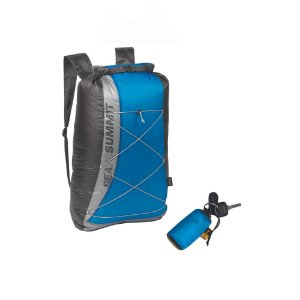 MOCHILA ULTRA SIL DRY DAYPACK 22L AZUL/PRETO SEA TO SUMMIT
