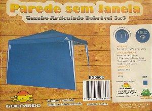 PAREDE SEM JANELA P/ GAZEBO GUEPARDO