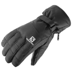 LUVA GLOVES FORCE TAM G PRETO MASCULINO 395002 SALOMON