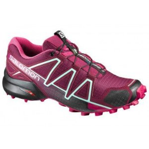 TENIS SPEEDCROSS 4 393439 F VINHO 36 SALOMON