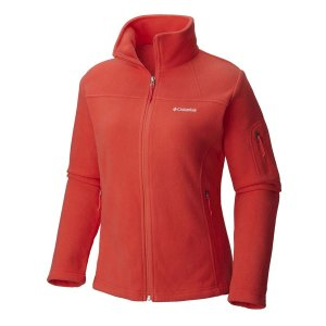 JAQUETA FAST TREK II FULL ZIP 'RED CORAL G AL6542 COLUMBIA