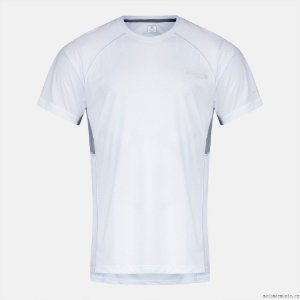 CAMISETA MANGA CURTA TITAN ULTRA WHITE GREY MASCULINO AM1307 COLUMBIA