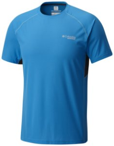 CAMISETA MANGA CURTA TITAN ULTRA COMPASS BLUE MASCULINO AM1307 COLUMBIA