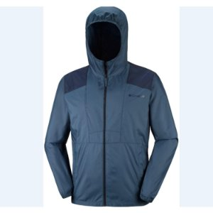 JAQUETA FLASHBACK WINDBREAK WHALE  COLLEGIATE NAVY MASCULINO KM3972 COLUMBIA