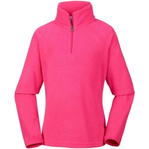 BLUSÃO FLEECE GLACIAL IV 1/2 ZIP RICH WINE FEMININO AK1131 COLUMBIA