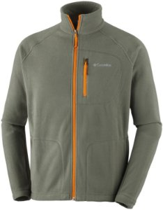 JAQUETA FLEECE FAST TREK II FULL ZIP VERDE PEATMOSS MASCULINO AM3039 COLUMBIA