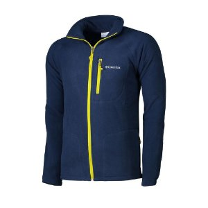 JAQUETA FLEECE FAST TREK II FULL ZIP AZUL COLLEGIATE NAVY MASCULINO AM3039 COLUMBIA