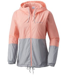 JAQUETA CORTA VENTO FLASH FORWARD WINDBREAKER ROSE FEMININO KL3010 COLUMBIA
