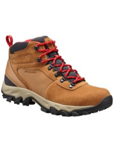 BOTA NEWTON RIDGE PLUS WATERPROOF MOUNTAIN RED FEMININO BL4552 286 COLUMBIA