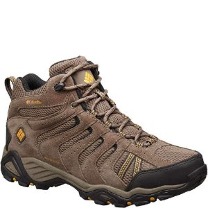 BOTA NORTH PLAINS II WP MID MUD MARRON MASCULINO BM1734 COLUMBIA