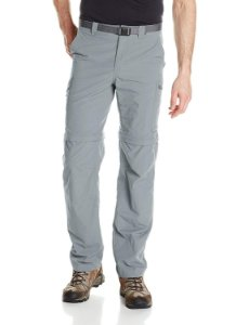 CALÇA SILVER RIDGE CONVERTIBLE GREY ASH MASCULINO AM8004 021 COLUMBIA