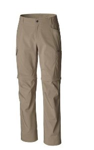 CALCA SILVER RIDGE STRETCH TM CONVERTIBL TUSK TAM50 AM1589 COLUMBIA