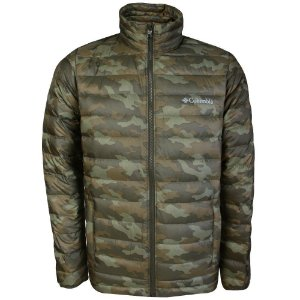 JAQUETA SISTER BROOK DOWN JACKET PEATMOSS CAMO EEG WO0023 COLUMBIA