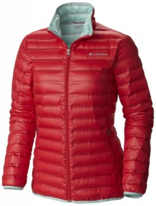 JAQUETA FLASH FORWARD DOWN JACKET RED CAMELLIA, SPRAY GG WL1058 COLUMBIA
