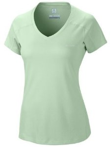 CAMISETA MANGA CURTA ZERO RULES SHORT SLEEVE SHIRT ICE GREEN AL6914 COLUMBIA