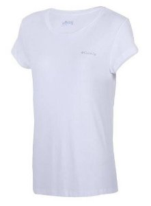 CAMISETA FEM M/C COOL BREEZE  BRANCO M 320310 COLUMBIA