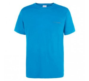 CAMISETA COLUMBIA  AZUL STEEL P 320288 COLUMBIA