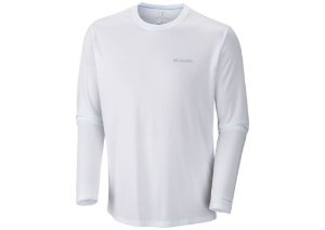 CAMISETA ZERO RULES LONG SLEEVE SHIRT  WHITE P AM6083 COLUMBIA