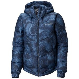 JAQUETA PIKE LAKE HOODED NOCTURNAL AGATE PRIN FEMININO WK0146 COLUMBIA