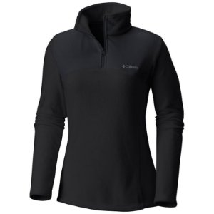 BLUSÃO FLEECE WESTERN RIDGE HALF ZIP LIGHT PRETO FEMININO AL0493 COLUMBIA