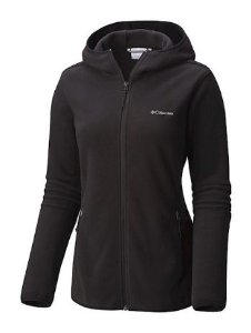 JAQUETA POLARTEC C/ CAPUZ FULLER RIDGE HOODED FLEECE PRETO FEMININO AL1755 COLUMBIA