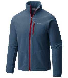 JAQUETA FLEECE FAST TREK II FULL ZIP DARK MOUNTAIN MASCULINO AM3039 COLUMBIA