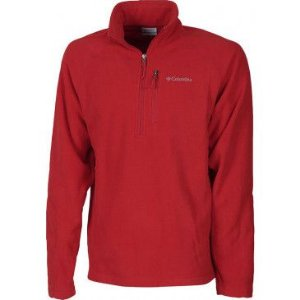 BLUSAO FAST TREK III HALF ZIP  MOUNTAIN RED M XM6410 COLUMBIA