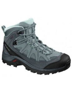 BOTA AUTHENTIC LTR GTX CINZA/VERDE FEMININO 404644 SALOMON