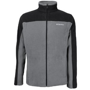 JAQUETA FLEECE WESTERN RIDGE FULL ZIP CHARCOAL MASCULINO AO0057 COLUMBIA