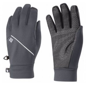 LUVA TRAIL SUMMIT RUNNING GLOVE GRAPHITE FEMININO CL0011 COLUMBIA