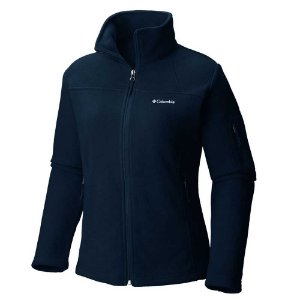 JAQUETA FLEECE FAST TREK II FULL ZIP NAVY M AL6542 425 COLUMBIA