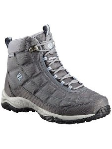BOTA FIRECAMP BOOT GRAPHITE FADED SKY FEMININO BL1766 053 COLUMBIA
