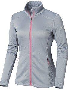 JAQUETA FLEECE ABBEY LAKE TRADEWINDS GREY FEMININO EL1276 032 COLUMBIA