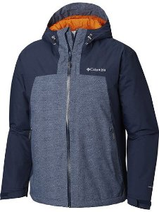 JAQUETA TOP PINE INSULATED RAIN COLLEGIATE NAVY MASCULINO WM1238 465 COLUMBIA