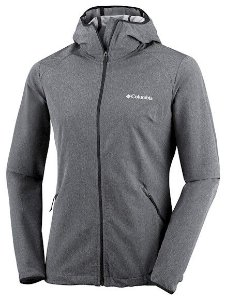 JAQUETA SOFTSHELL HEATHER CANYON PRETO FEMININO WL1173 010 COLUMBIA