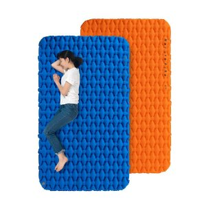 ISOLANTE INFLAVEL CASAL SLEEPING PAD FC-11 AZUL NATUREHIKE