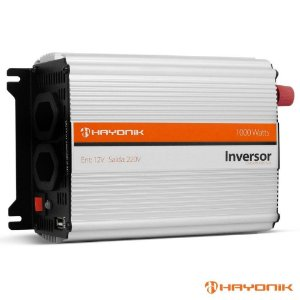 INVERSOR 1000W 12VDC/220V USB MODIFICADA HAYONIK ¡