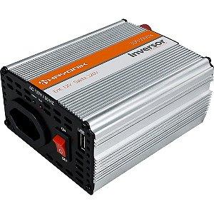 INVERSOR 300W 12VDC/220V USB MODIFICADA HAYONIK LIQUIDAÇÃO