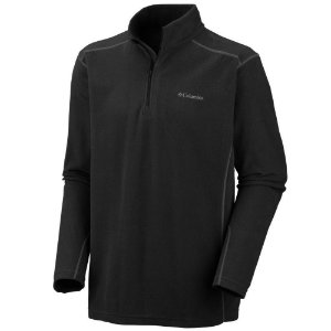 JAQUETA FLEECE KLAMATH RANGE II HALF ZIP PRETO AM6558010 COLUMBIA