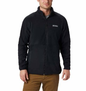JAQUETA FLEECE BASIN TRAIL FULL ZIP PRETO MASCULINO AM0233010 COLUMBIA