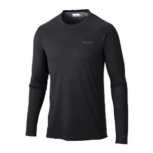 BLUSA 2A PELE MIDWEIGHT II STRETCH LONG SLEEVE TOP PRETO MASCULINO AM6165010 COLUMBIA