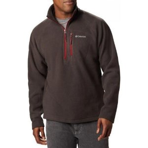 BLUSÃO FLEECE FAST TREK III HALF ZIP BUFFALO RED JASPER MASCULINO XM6410225 COLUMBIA