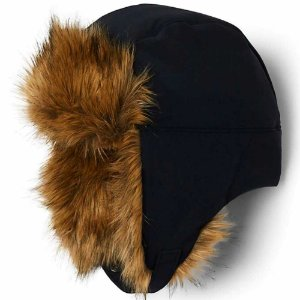 GORRO WINTER CHALLENGER TRAPPER BLACK BROWN CU0072010 COLUMBIA
