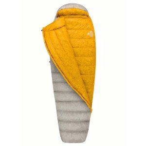 SACO DE DORMIR SPARK SPII REGULAR +4C-2C-18C LEFT 2019 CINZA E AMARELO SEA TO SUMMIT
