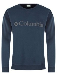 BLUSAO FLEECE LOGO CREW COLLEGIATE NAVY MASCULINO AM0358464 COLUMBIA