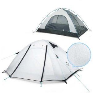 BARRACA PRO SERIES 3P UPF50+ ALUMINIO BRANCO NATUREHIKE